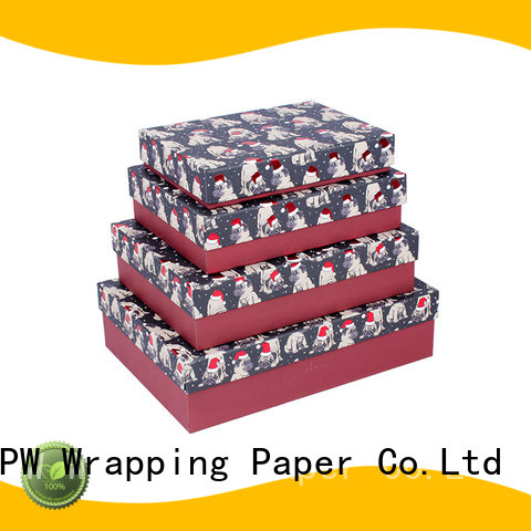 PPW custom custom printed boxes supplier for Christmas