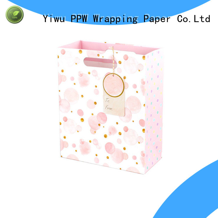 PPW hot selling christmas bags personalized for wedding