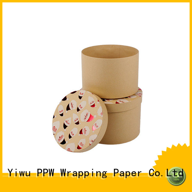 PPW top quality print box supplier for festival