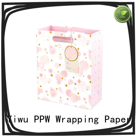 PPW paper bag wholesale for birthday