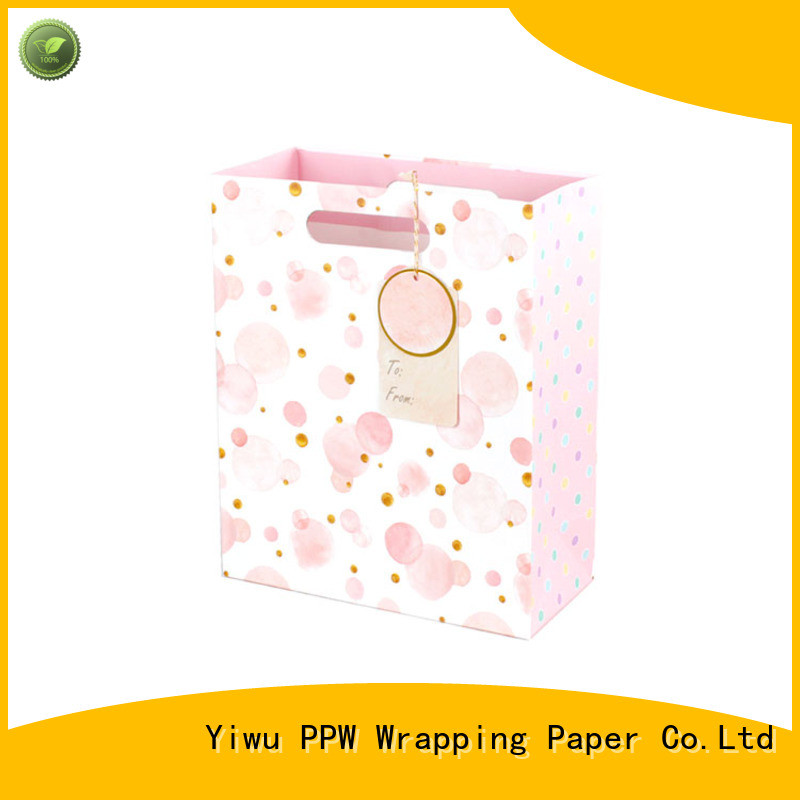 PPW custom paper bags factory price for festival