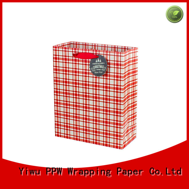PPW popular personalised gift bags factory price