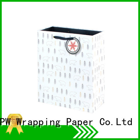 PPW paper bag wholesale for festival