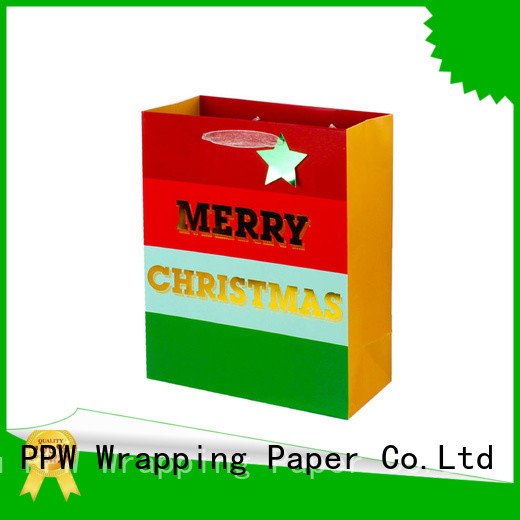PPW kraft bags factory price for wedding