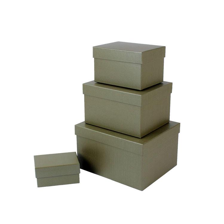 Pure Color Birthday Gift Box Custom Cardboard Boxes