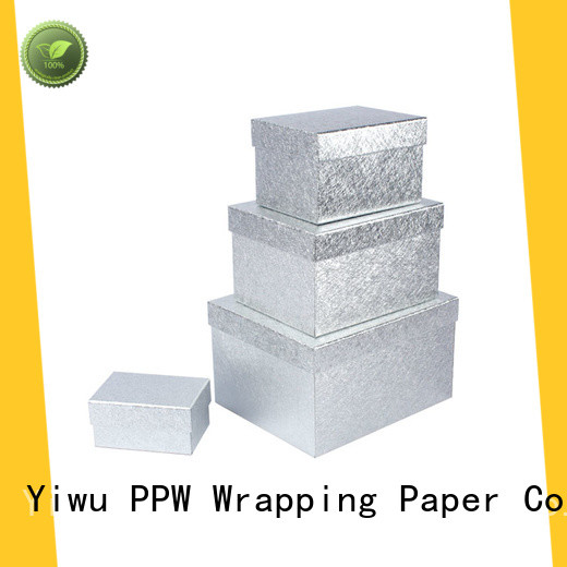 PPW cardboard gift boxes supplier for Christmas