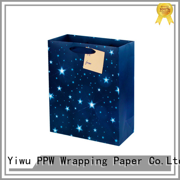 PPW professional small gift bags factory price for festival