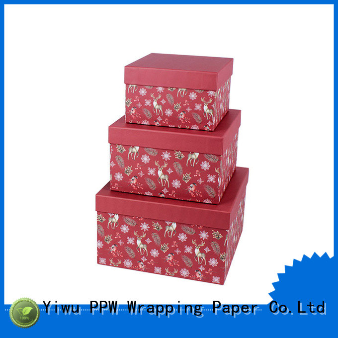 PPW cost-effective custom packaging box manufacturer for festival