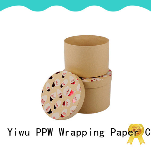 PPW folding box wholesale for birthday