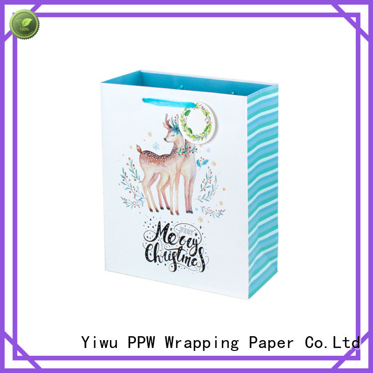 PPW paper party bags wholesale for advertising