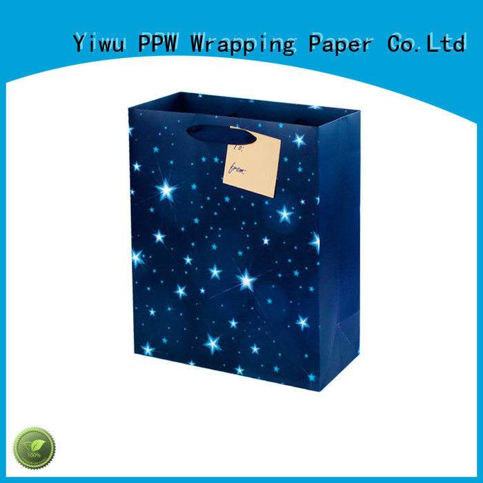 hot selling paper gift bags factory price for wedding
