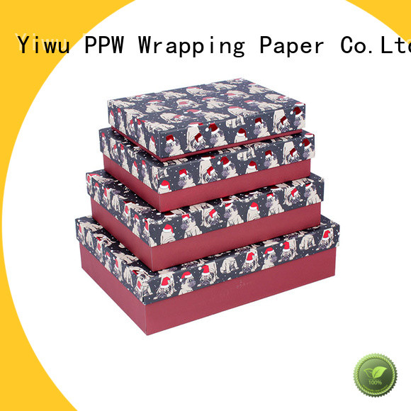 PPW top quality custom packaging boxes wholesale for festival