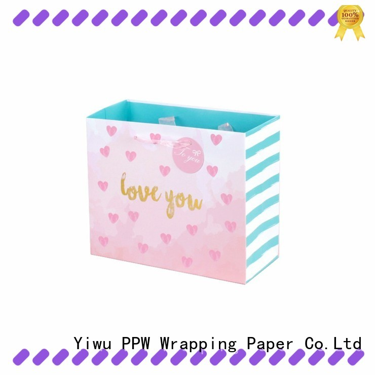 PPW custom gift bags personalized for birthday