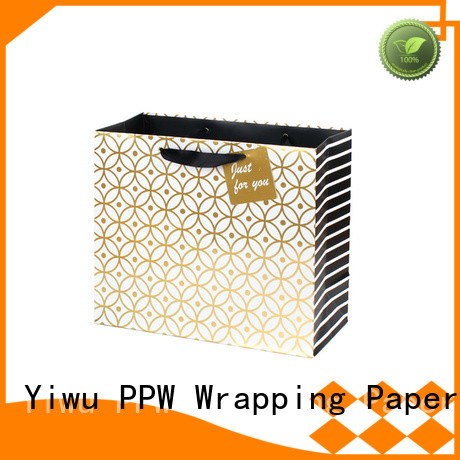 PPW hot selling custom paper bags factory price for advertising