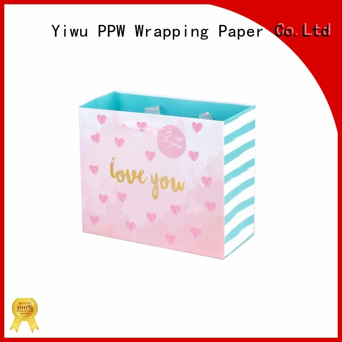 PPW custom personalised gift bags personalized for wedding