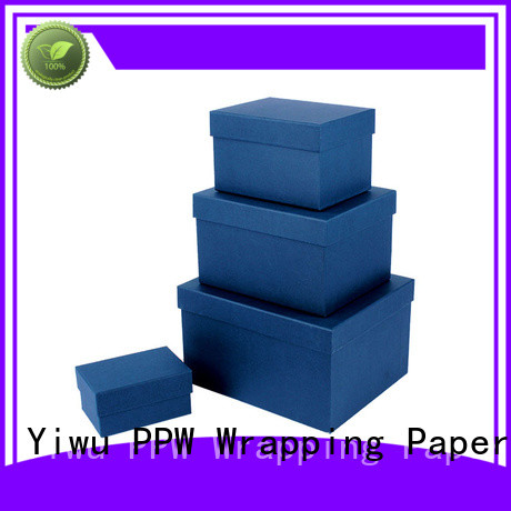 PPW hot selling round box supplier for Valentine