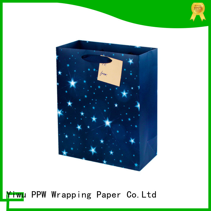 PPW paper gift bags factory price