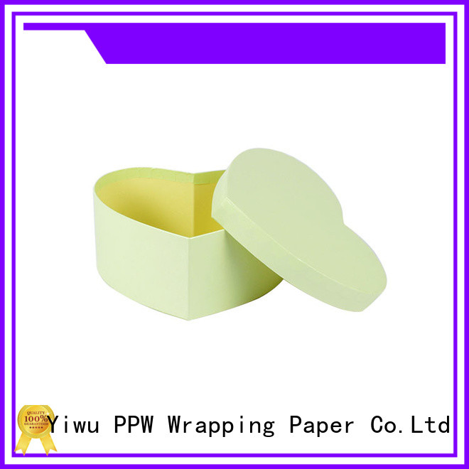 PPW round box manufacturer for festival
