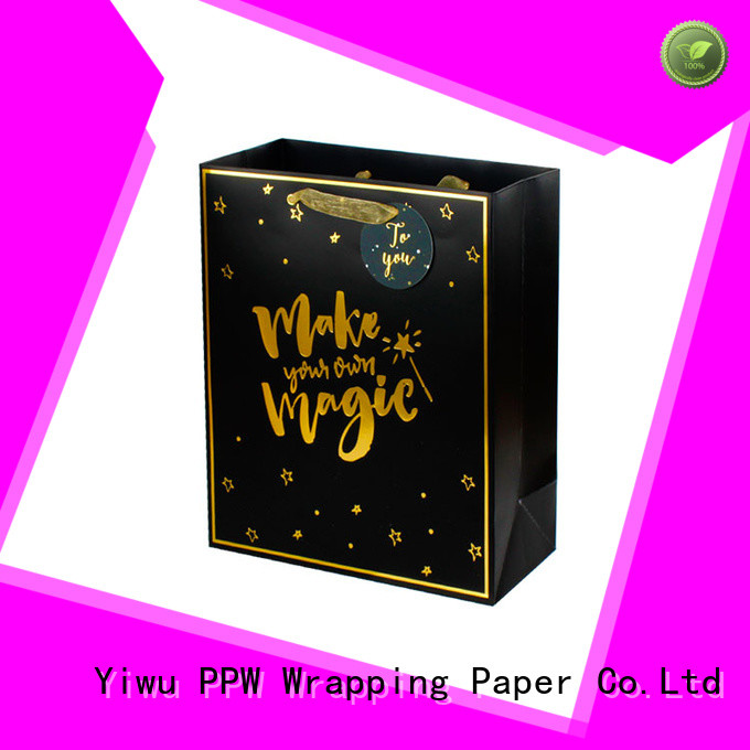 PPW small gift bags factory price for birthday