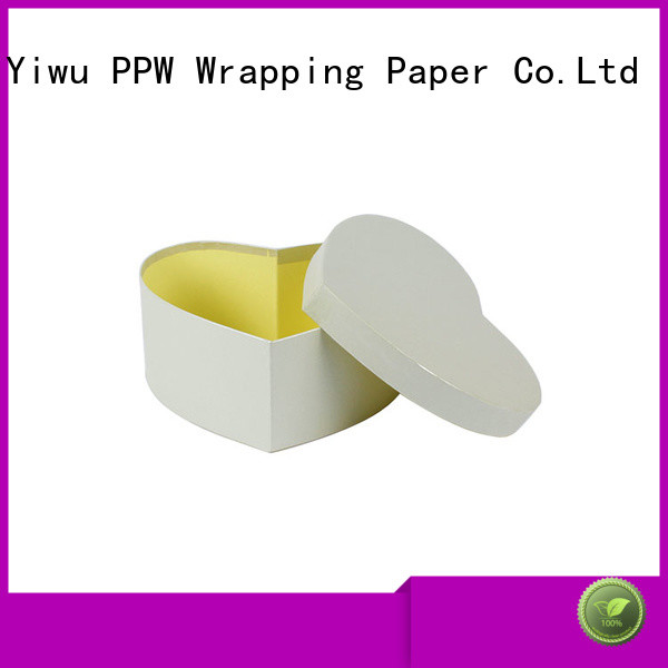 PPW eco-friendly buy cardboard boxes supplier for Valentine