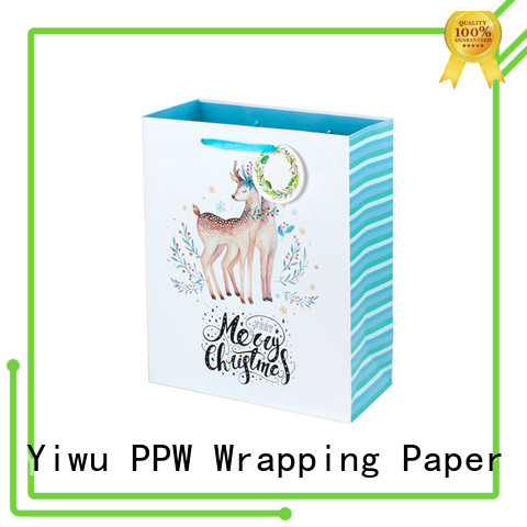 custom paper bags with handles factory price for advertising