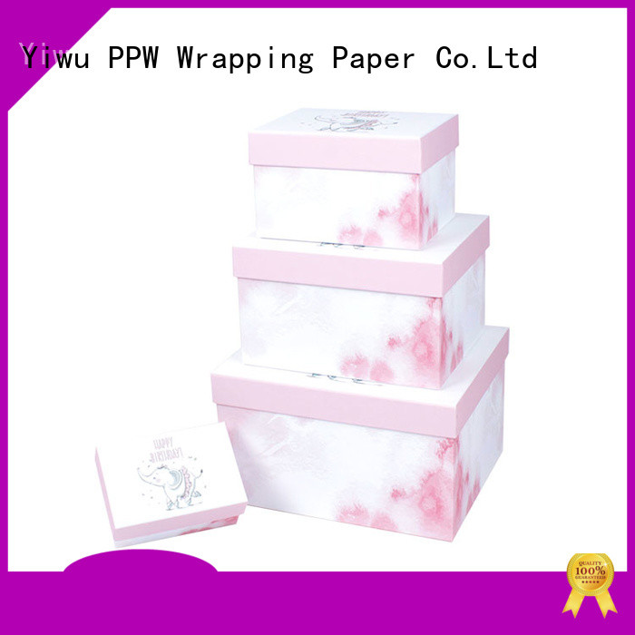 PPW cost-effective custom gift boxes on sale for Valentine