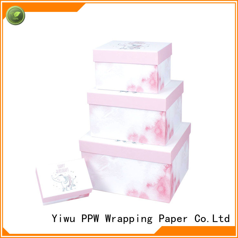 PPW cosmetic box on sale for festival