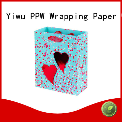 PPW quality small gift bags supplier