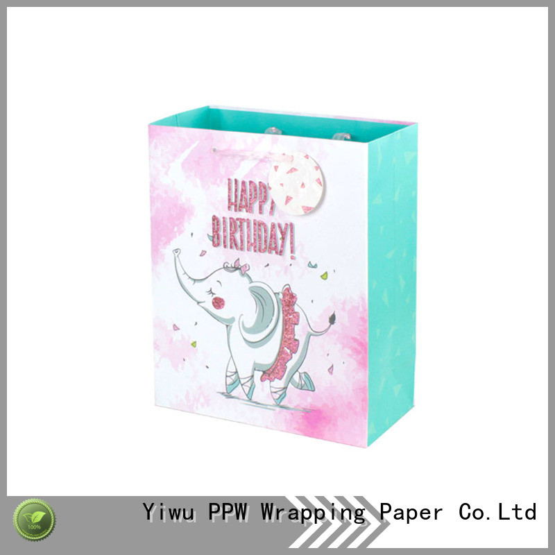hot selling personalised gift bags factory price for wedding