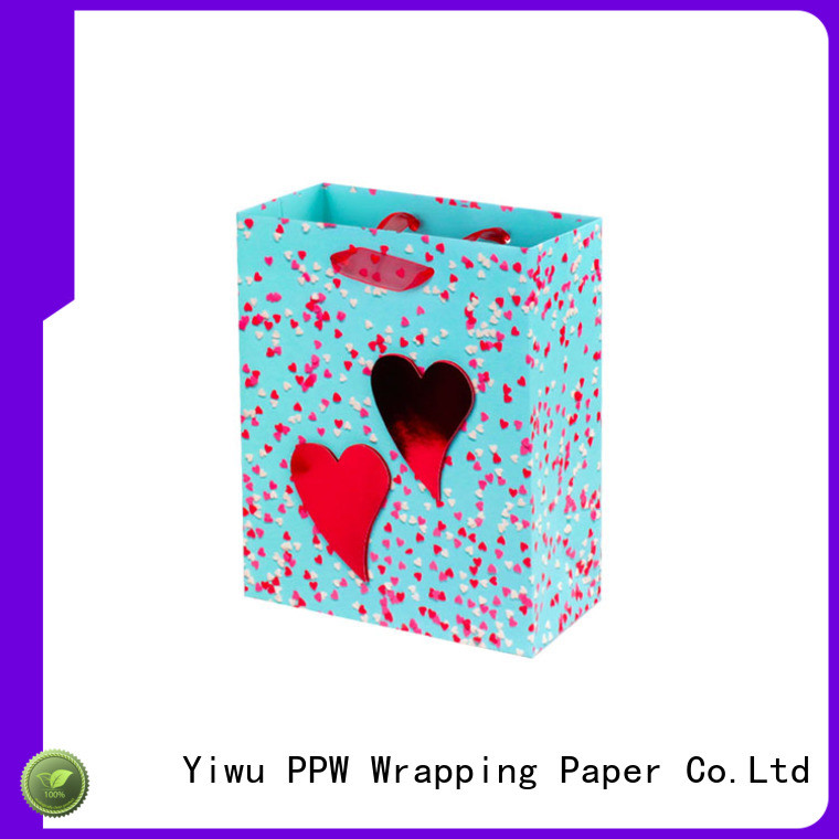 PPW hot selling large gift bags personalized for festival