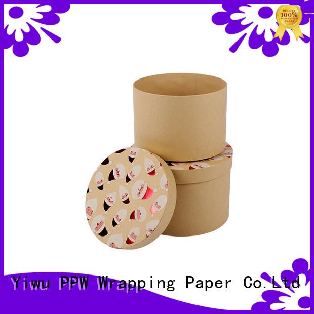 PPW custom packaging box supplier for Christmas
