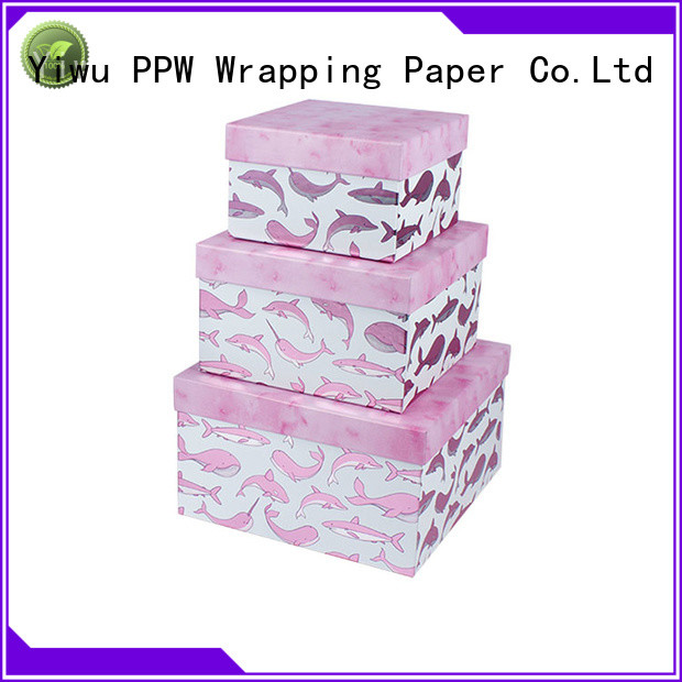 PPW custom print box wholesale for festival