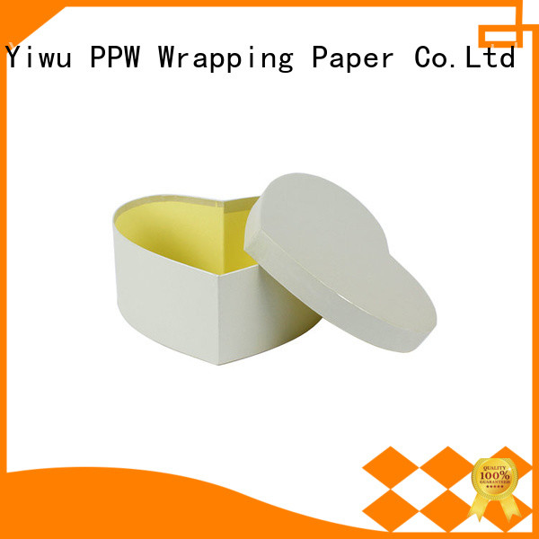 PPW eco-friendly cardboard packaging supplier for Valentine