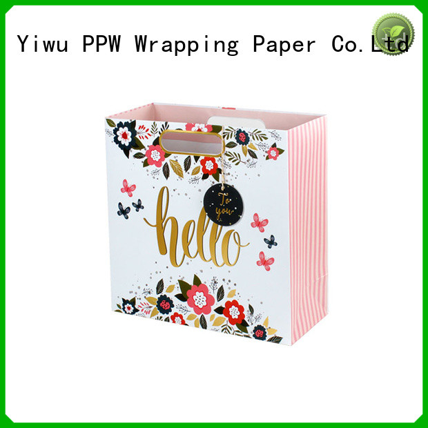 PPW personalised gift bags personalized for advertising