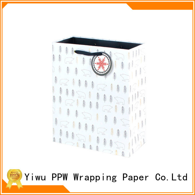 PPW hot selling paper bag wholesale for wedding