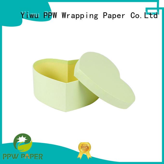 PPW folding box wholesale for Valentine