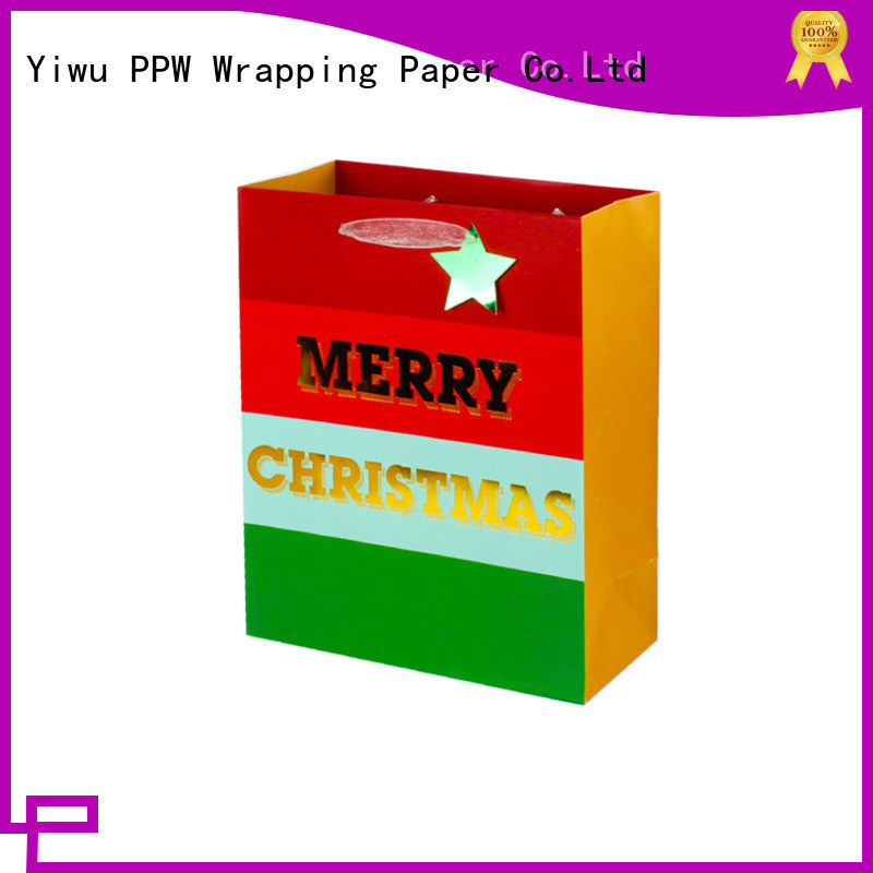 PPW professional kraft bags wholesale for festival