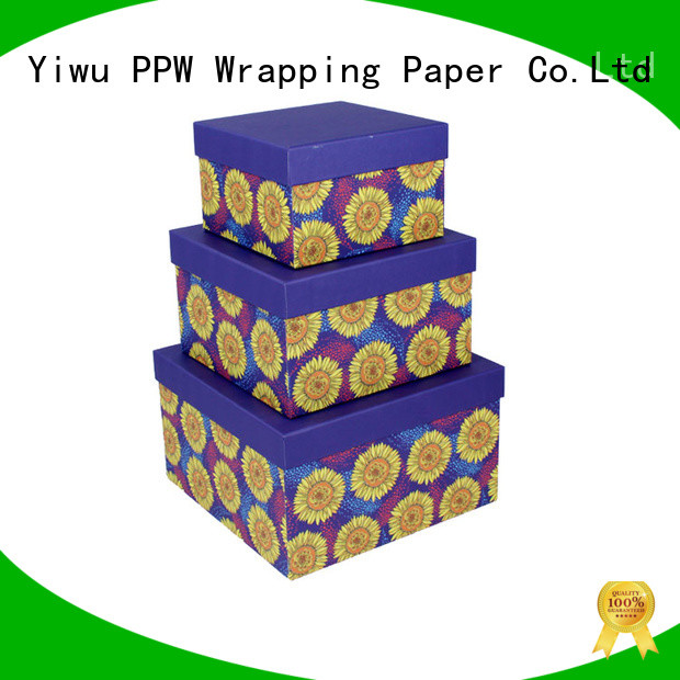 PPW cost-effective cardboard boxes for sale on sale for birthday