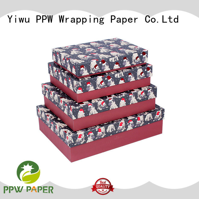PPW custom packaging boxes supplier for birthday