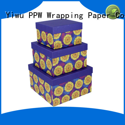 PPW hot selling buy cardboard boxes on sale for festival