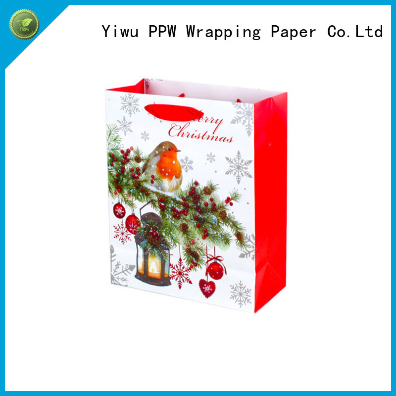PPW paper gift bags wholesale for advertising