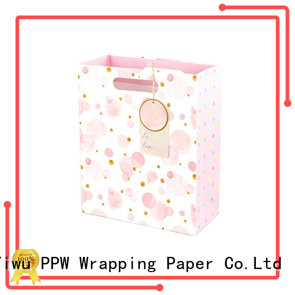 custom paper party bags supplier for advertising