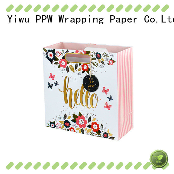 PPW hot selling small gift bags supplier for advertising