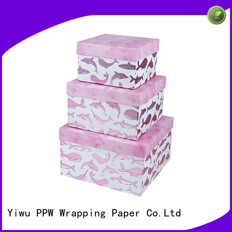 PPW hot selling custom gift boxes supplier for Christmas