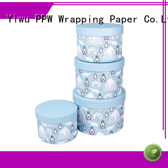 PPW hot selling folding box wholesale for Christmas