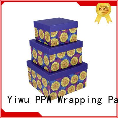 PPW custom cardboard boxes for sale supplier for festival