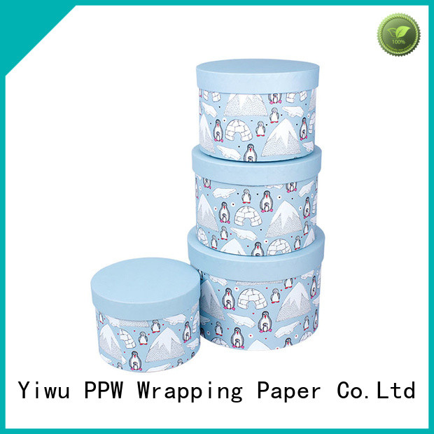 PPW hot selling cardboard boxes for sale supplier for Christmas