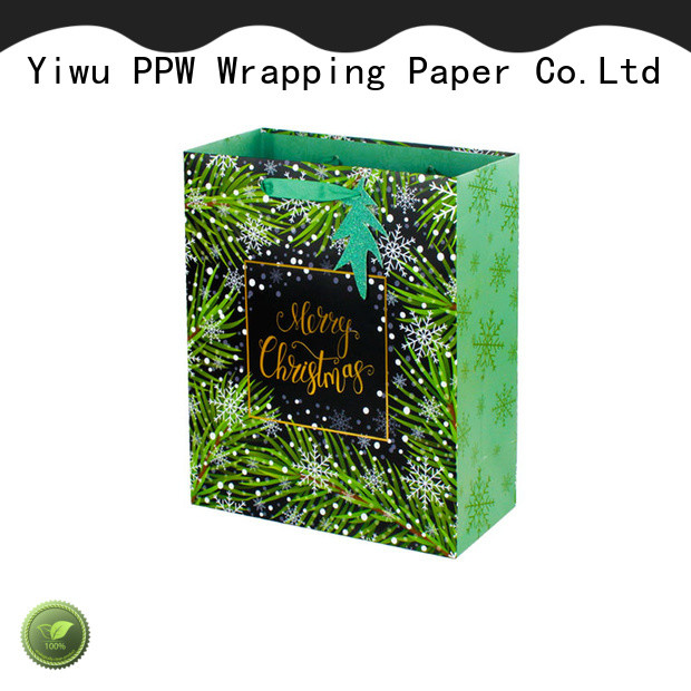 PPW paper bag factory price for birthday