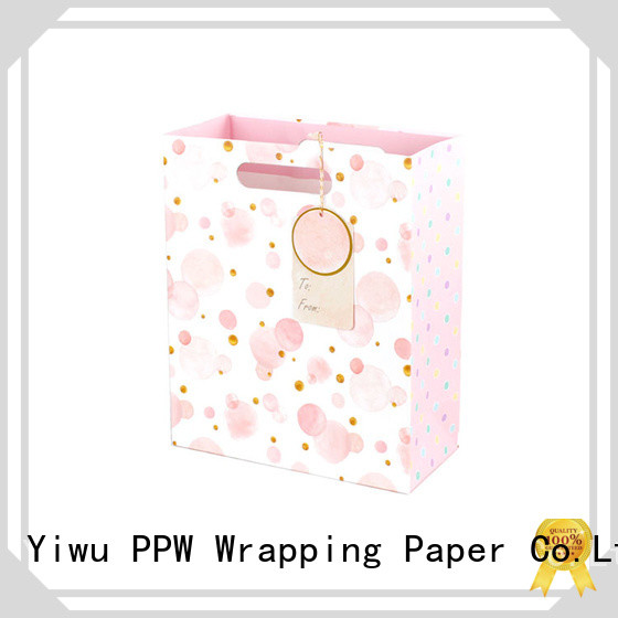 PPW large gift bags personalized for birthday