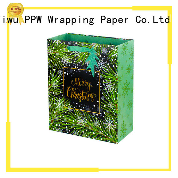 PPW hot selling personalised gift bags personalized for advertising